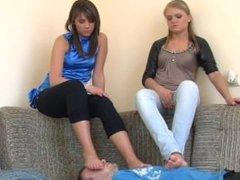 polish mistresses footstool (2clips)