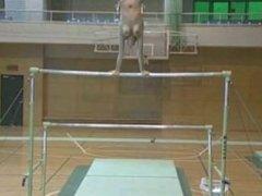 Topless Gymnastics with the Beasty Boys PMV