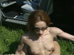 pickup skinny muscle girl