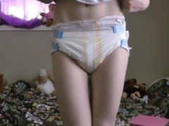StayDiapered: This one likes her diapers