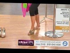 Lisa Robertson Shoe Modeling