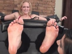 Terribly Ticklish Mia Vallis