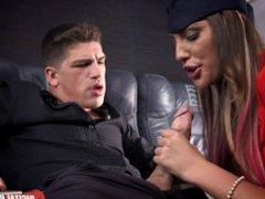 August Ames in, DP Star Sex Challenge