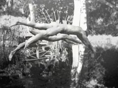 COLLECTION OF SPYCAM CLIPS OF WWII SOLDIERS ~ SHOWERS, EXAMS, ETC -(©¿©)-