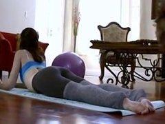 Sarah Shevon Has Sex During Yoga