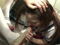 jap schoolgirl bullied by socks