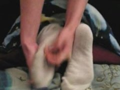 Dorothy's Socks And Bare Foot Tickle