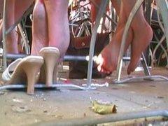Friends Feet (Brunette And Blonde) 2