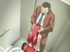 Hentai Girl fucked in bathroom