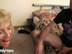 A hardcore for a slutty blonde MILF