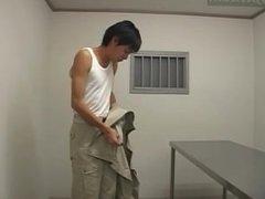 Anal Shaving of Prisoner by Guards