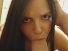 Cumming in my Busty Girlfriends Mouth Pov
