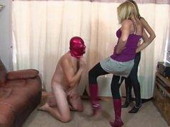 Busty pornstar punishment