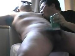 Japanese chubby guy get sucked