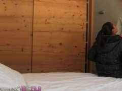 Love Creampie Sporty ski babe gets pussy filled with spunk in the Alps
