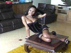 Hot Asian Shemale Solo Scene 2