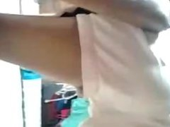 teen masturbating on her bed