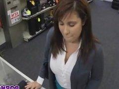 Maribel Was On Her Knees Sucking Dick