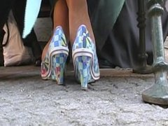 Coed Hosed Feet Activities Of A Mature Lady