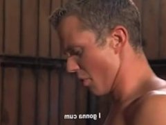 Two hot guys getting fucked up the ass