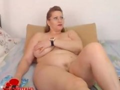 Big Strawberry Blonde MILF Wife Cam
