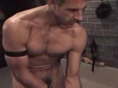 older dominates twink in dungeon