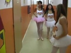 Hot ballet female orgy