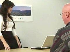Misstress Ariel Black - Office fart interview