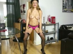 Police Officer Penny Stripped NAKED!