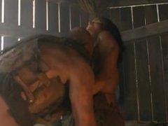 Katrina Law Topless Spartacus