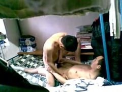 Hidden unknow Webcam - A couple China Student gay make love so hot