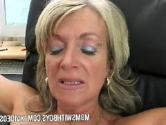 Old Lady Fucked By Younger Guy