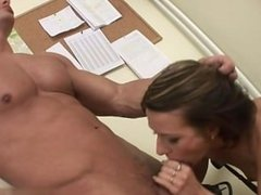 Horny housewife hard fast fuck