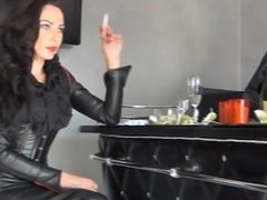 fetish diva nadia smoking 2