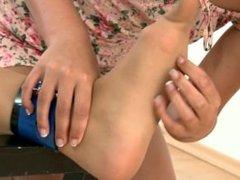 Ticklish Girl in Trouble