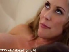 Shy son sex with stepmom and hot Neighbor