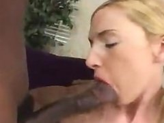 Teen Gets Fucked by Two Black Cocks