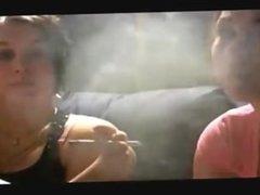 smoking girls fetish.