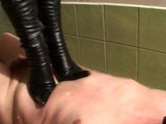 Leather Goddess Trampling