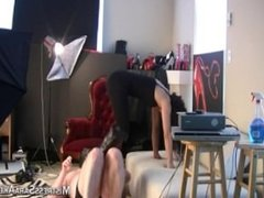 Mistress Sara Akeera Trampling 3