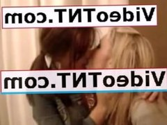 2 Hot Blonde Girls Kissing Lesbiansss REALLY HOT