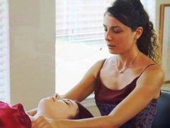 Female Pec Massage