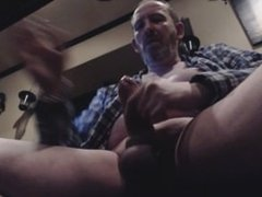 milking my uncut cock with poppers