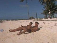 Sex marathon on the beach