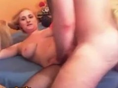 Young Couple Fuck Suck And Facial on cam