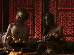 Esme Bianco and Sahara Knite Game of Thrones Lesbian Sex. HD.