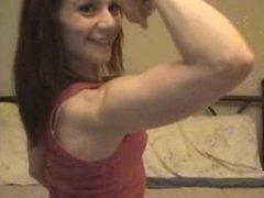 Webcam Cutie Flexing