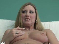 hot blonde enjoys her pussy