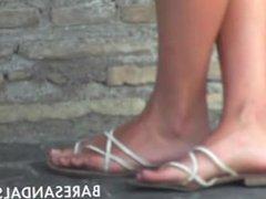 Beautiful Feet Girl Italy
