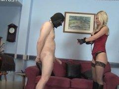 Sexy daughter bondage slave